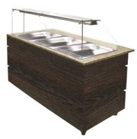 Buffet self service chaud wenge 1250