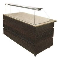 Buffet self service neutre wenge 1890