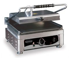 Machine a panini professionnel surface lisse 2,5kw 410*500