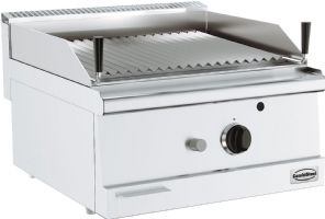 Base 600 grill pierre lavique gaz