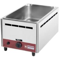 Bain marie gaz de table gn 1/1-150 mm