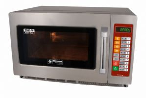Micro-ondes inox GN 2/3, 2100 w digital 34 litres