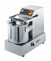 Cutter inox, 15 litres, de table, 2 vitesses cutters 380x610xh530/700