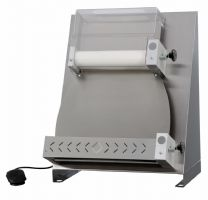Laminoir a pizzas diamètre 420 mm (inox) linear form laminoirs a pizza fabrication pizza group