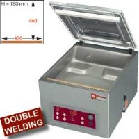 Machine sous-vide, cuve inox 420 x460x hauteur 180 machine sous-vide de table a cloche 480x610xh440