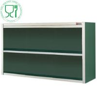 Armoire murale inox ouverte standard line 1400x400xh600 armoires murales inox ouvertes
