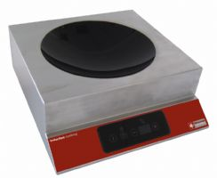 Plaque a induction wok 3,5 kw touches tactile