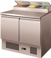 Table refrigeree sandwiches inox 2 portes  240l +2/+8°c