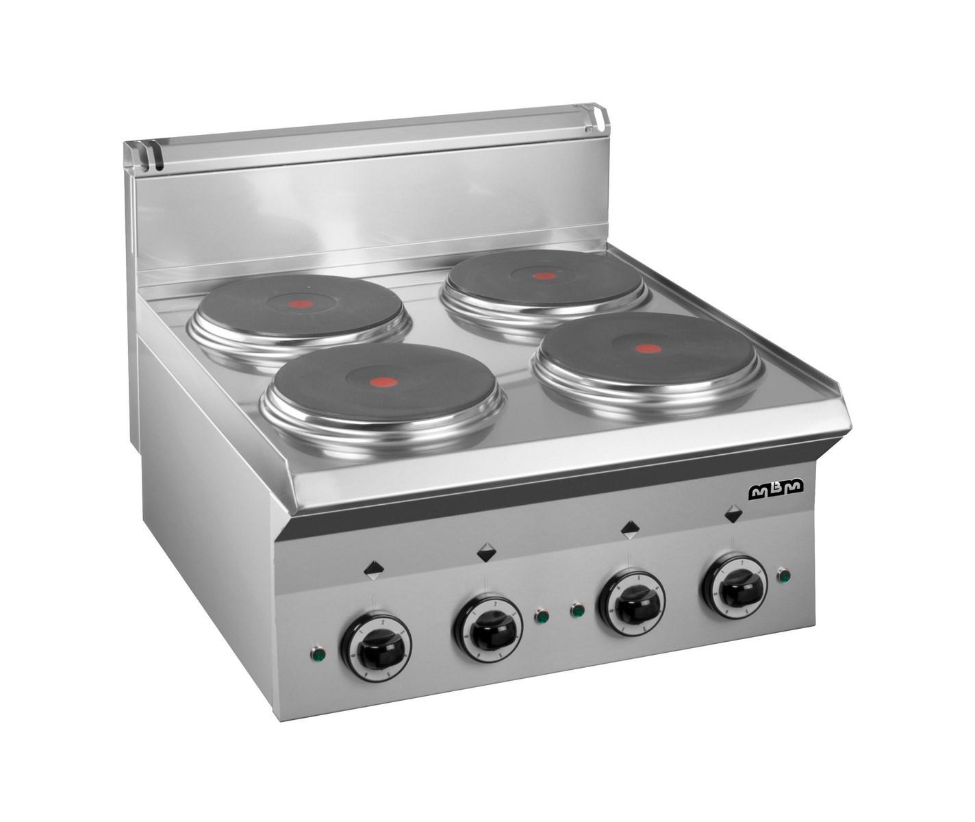info pour 9386c 8c61d Fourneaux electriques cuisiniere a poser electrique – 4 plaques rondes