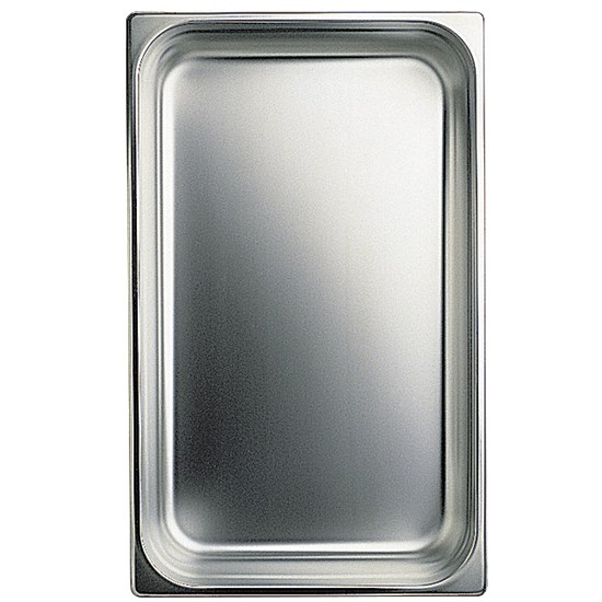 photo Bac gn en inox, gn 1/4 h=100 mm