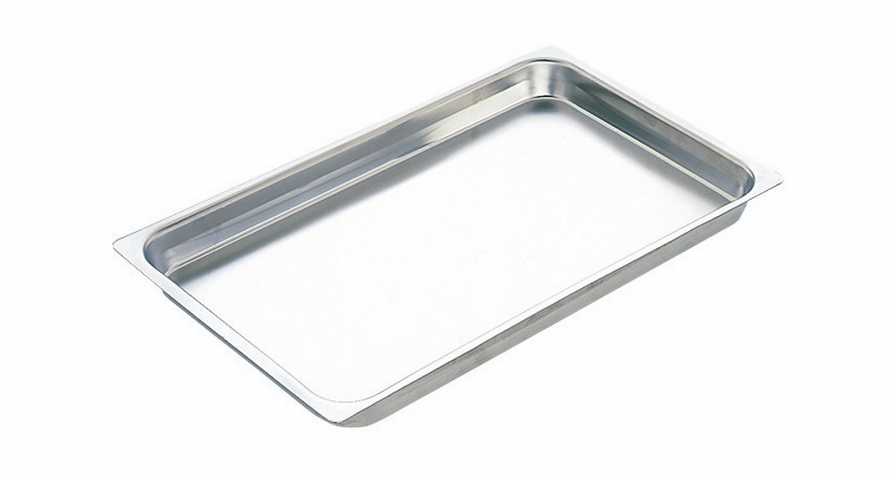 photo Bac gn en inox, gn 2/3 h=40 mm